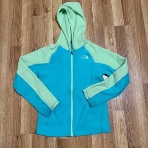 The north face kids sz 10-12 fleece jacket unisex